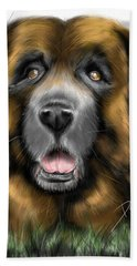 Big Dog Beach Towel
