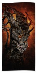 Big Dragon Beach Towel
