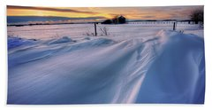 Beach Sheet featuring the photograph Big Drifts by Dan Jurak
