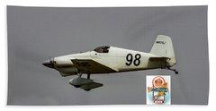 Big Muddy Air Race #98 Beach Towel