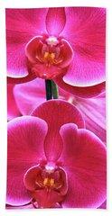 Big Orchids Beach Towel