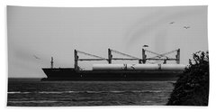 Big Ship Beach Towel
