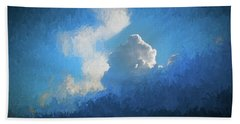 Big Sky Beach Towel