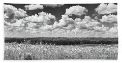 Beach Sheet featuring the photograph Big Sky - Wisconsin  by Ricky L Jones