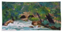 Big Spring On The Current River Beach Towel