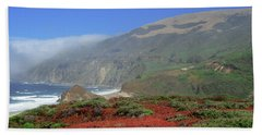 Big Sur 4 Beach Towel