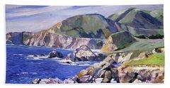 Big Sur California Coast Beach Sheet