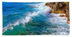 Big Sur Coastline Beach Towel
