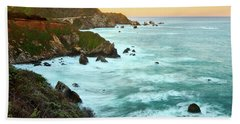 Big Sur Sunrise Beach Towel