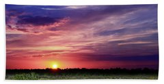 Big Texas Sky Beach Towel