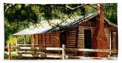 Big Thicket Information Center_the Staley Cabin Beach Towel