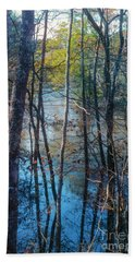 Big Thicket Water Reflection Beach Towel