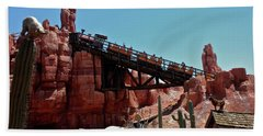 Big Thunder Mountain Walt Disney World Mp Beach Towel