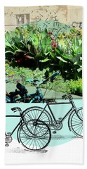 Bike Poster Beach Towel