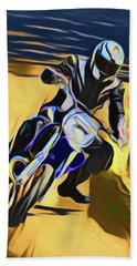 Biker 21018 Beach Towel
