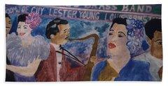 Billie's Brass Band Beach Sheet
