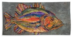 Billy The Bass Beach Towel