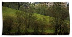 Biltmore Estate At Dusk Beach Towel