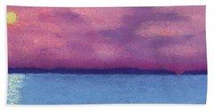 Bimini Sunrise Beach Towel