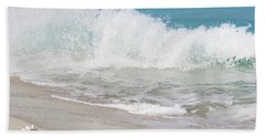 Bimini Wave Sequence 1 Beach Towel
