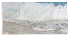 Bimini Wave Sequence 2 Beach Towel