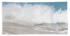 Bimini Wave Sequence 3 Beach Towel