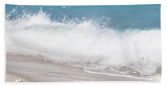 Bimini Wave Sequence 4 Beach Towel
