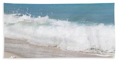 Bimini Wave Sequence 5 Beach Towel