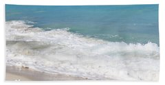 Bimini Wave Sequence 6 Beach Towel