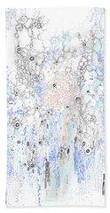 Bingham Fluid Or Paste Beach Towel by Regina Valluzzi