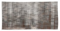 Birch At The Forest Edge Beach Towel by Thomas Young