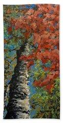 Birch Tree - Minister's Island Beach Sheet