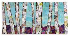 Birch Trees Beach Sheet