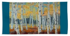 Birchwood Forest Beach Towel