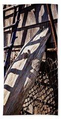 Bird Barn Details Beach Towel