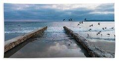 Bird Flight Beach Towel