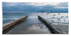 Bird Flight Beach Towel
