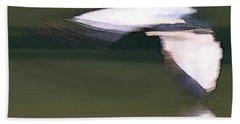 Bird In Flight Beach Towel