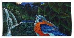 Bird In Paradise Viii Beach Sheet