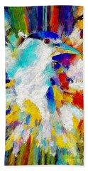 Bird In Paridise Beach Sheet by Adam Olsen