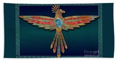 Bird Of Thunder Beach Towel