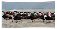 Bird Party Beach Towel
