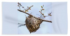 Beach Towel featuring the photograph Birds Nest by Christina Rollo