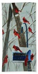 Birds Of A Feather Beach Sheet