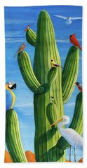 Birds Of A Feather Beach Towel