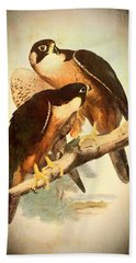 Birds Of Prey 2 Beach Towel by Charmaine Zoe