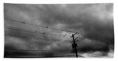 Birds On A Wire 2018 Beach Towel