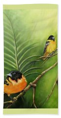 On The Lookout, Birds  Beach Towel