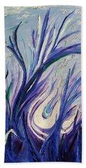 Birth Of Music Beach Towel by Lisa Rose Musselwhite