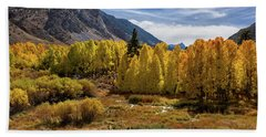 Bishop Creek Aspen Beach Towel